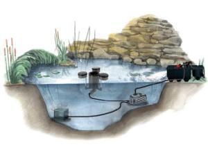 Очистка воды из водайомов