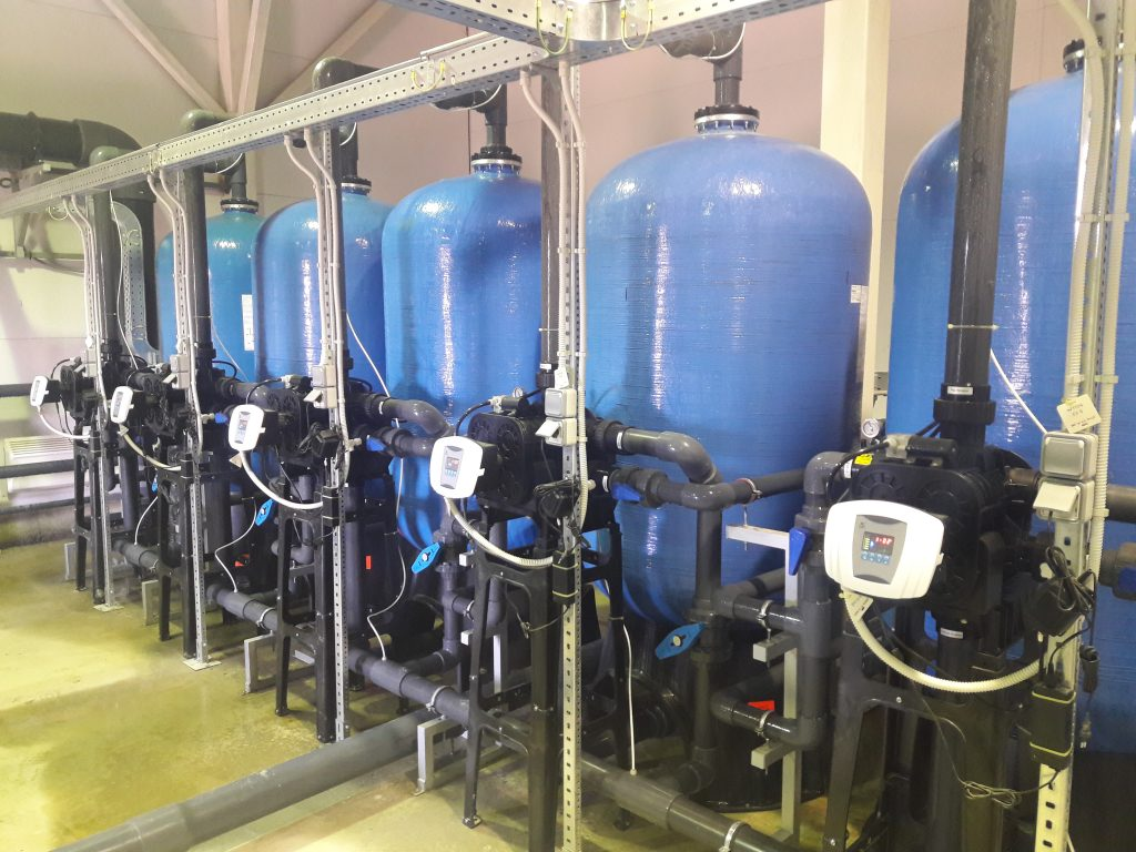 Монтаж промышленных систем водоподготовки