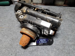 Клапан управления Autotrol до промывки