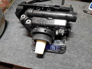 Клапан управления Autotrol после промывки