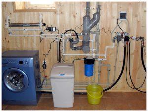 Магистральная система очистки воды для дачи и дома